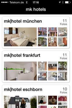 mk hotels apk screenshot
