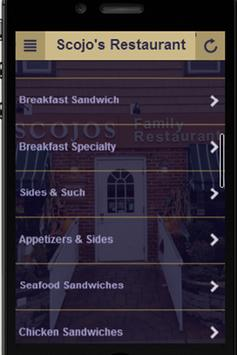 Scojo's Restaurant screenshot 1