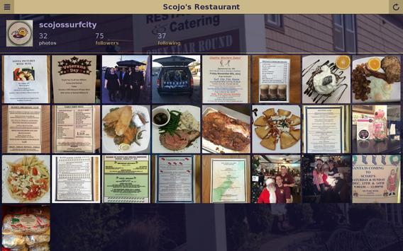 Scojo's Restaurant apk screenshot