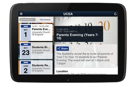 UCEA apk screenshot