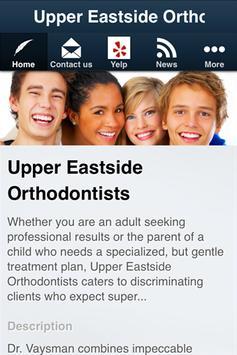 Upper Eastside Orthodontists poster