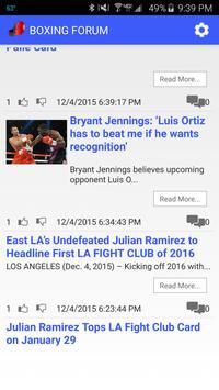 Boxing Forum screenshot 1