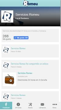 Servicios Romeu poster