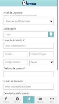 Servicios Romeu screenshot 1