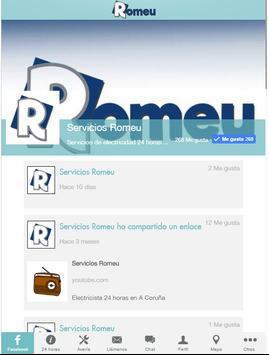 Servicios Romeu screenshot 2