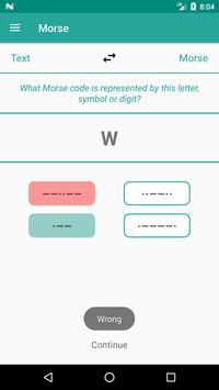Free Morse code - learn and translate screenshot 3