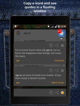 Pocket Quotations screenshot 11