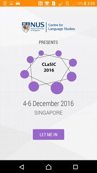 CLaSIC 2016 poster