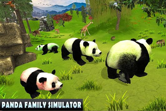 Wild Panda Family Jungle Sim poster