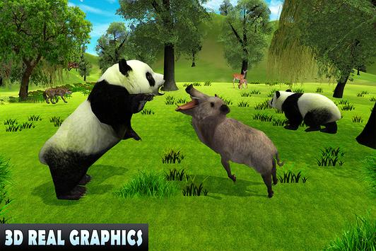 Wild Panda Family Jungle Sim screenshot 11