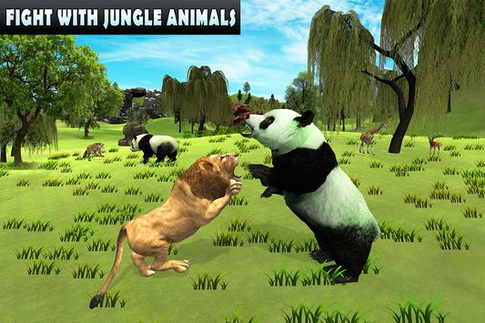 Wild Panda Family Jungle Sim screenshot 6