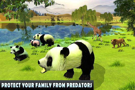 Wild Panda Family Jungle Sim screenshot 9