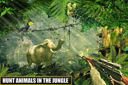 Sniper Animal Hunter Safari poster