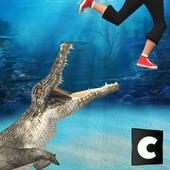 Wild Crocodile Attack 2017 icon