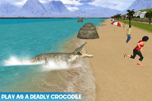 Wild Crocodile Attack 2017 poster