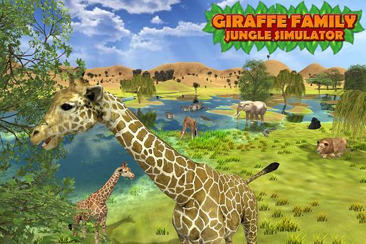 Giraffe Family Jungle Simulator screenshot 5