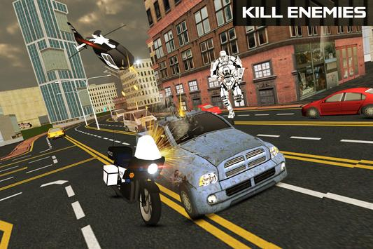 Police Transform Robot Hero apk screenshot