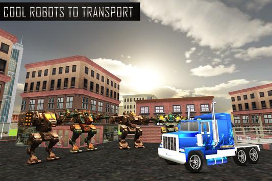 Robot Transport Truck Sim screenshot 11
