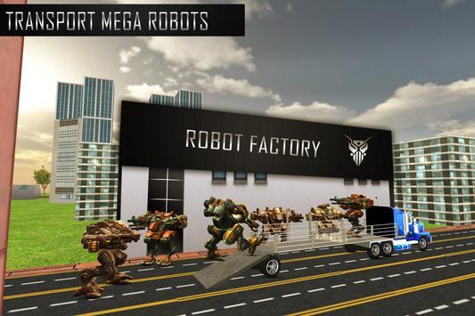 Robot Transport Truck Sim apk screenshot