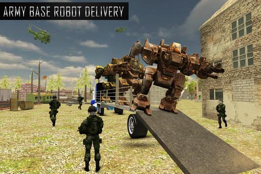 Robot Transport Truck Sim screenshot 8