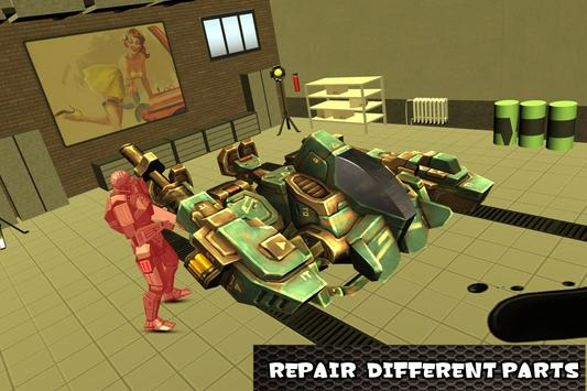 Robot Mechanic Simulator screenshot 11