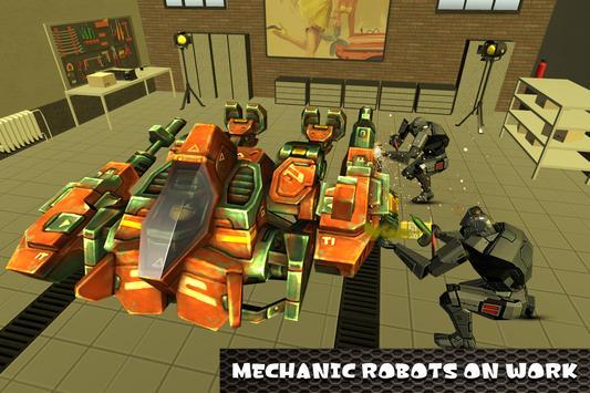 Robot Mechanic Simulator apk screenshot