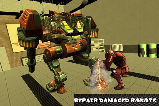 Robot Mechanic Simulator screenshot 8