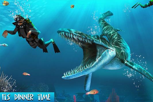 Sea Monster Megalodon City poster