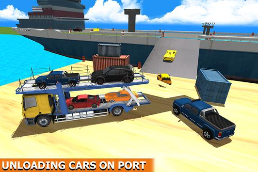 Ship Cargo Car Transporter poster