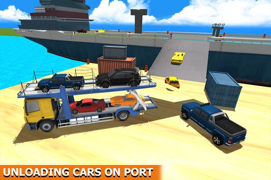 Ship Cargo Car Transporter apk screenshot