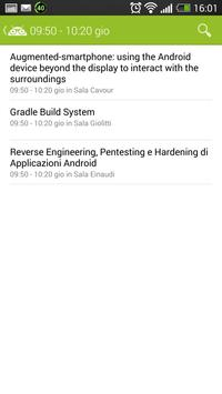 Droidcon Italy 2014 Turin screenshot 3