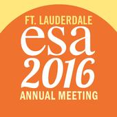 ESA 2016 Annual Meeting icon