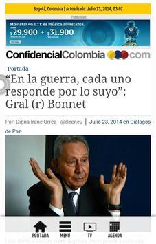 Confidencial Colombia apk screenshot