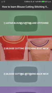 How to Learn Blouse Cutting Stitching Design VIDEO poster