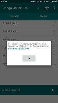 Congo Online FM Radio apk screenshot