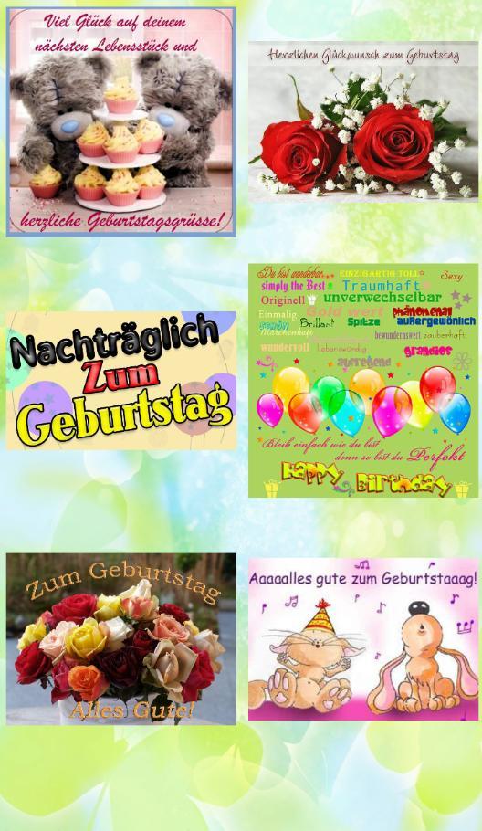 Herzlichen Glückwunsch Postkarten For Android Apk Download