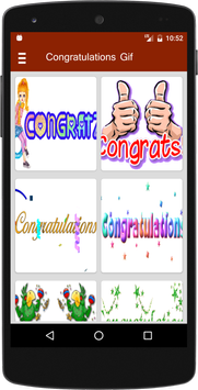 Congratulations Animated GIF poster