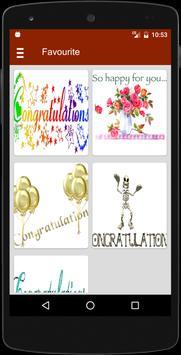 Congratulations Animated GIF apk screenshot