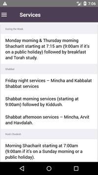 Congregation Shaarei Tzedec - The Markham St Shul apk screenshot