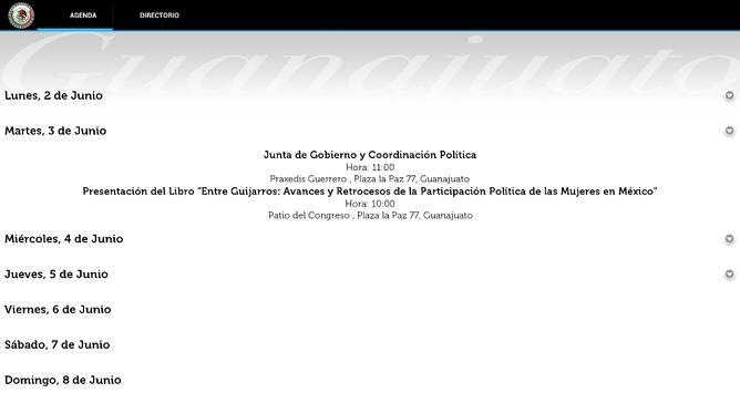 Congreso Guanajuato apk screenshot