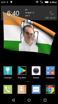 Congress Party Live Wallpapers apk screenshot