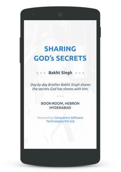 Sharing God's Secrets 海报