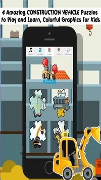 construction games free: Kids screenshot 1