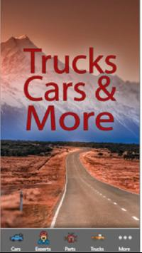 Trucks Cars and More poster