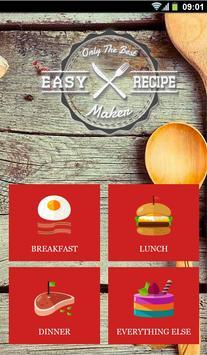 Easy Recipe Maker apk screenshot