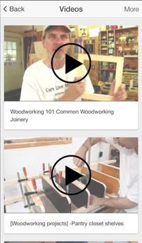 Recycled Woodworking & Iron screenshot 2