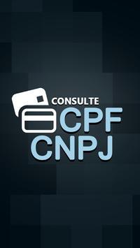 Consulta CPF e CNPJ poster