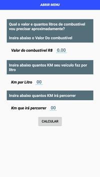 Consumo combustível screenshot 1
