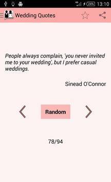 Wedding Quotes poster