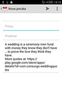 Wedding Quotes apk screenshot